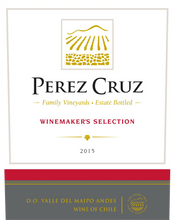 Load image into Gallery viewer, Pérez Cruz Winemaker's Selection Red Blend Valle del Maipo
