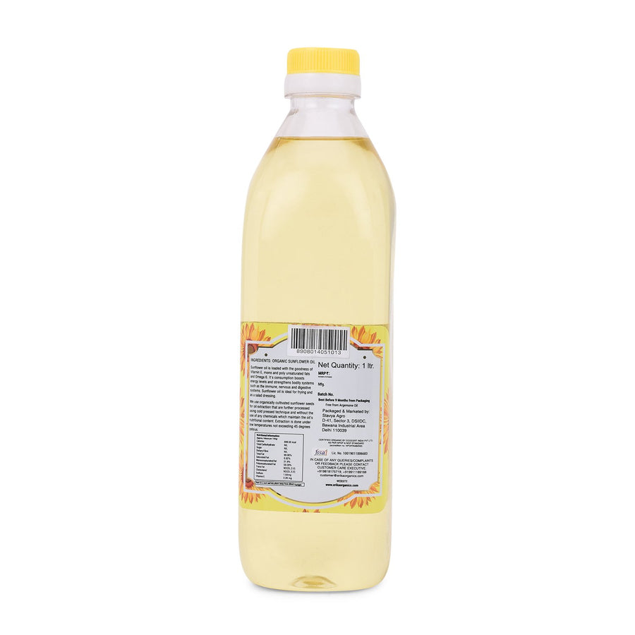 Organic Sunflower Oil