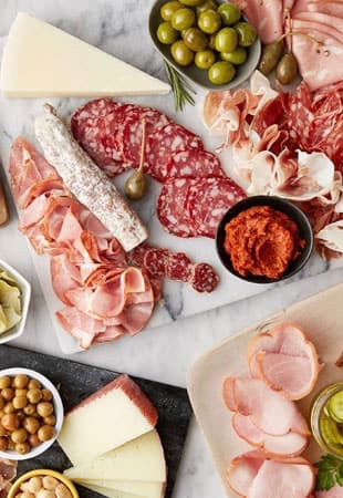 Chilled Meats, Dairy & Fish