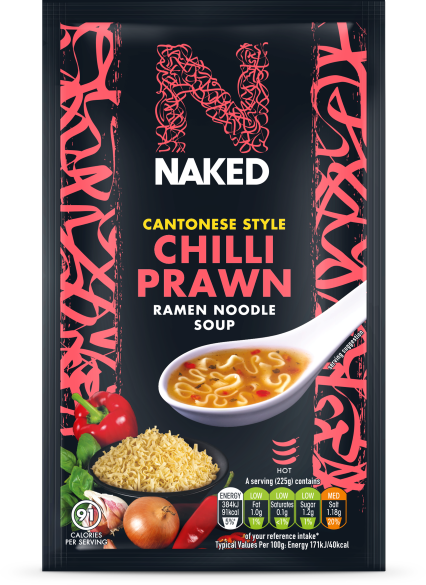 Naked Noodle Cantonese Chilli Prawn Soup