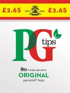 PG Tips 80's Tea Bags