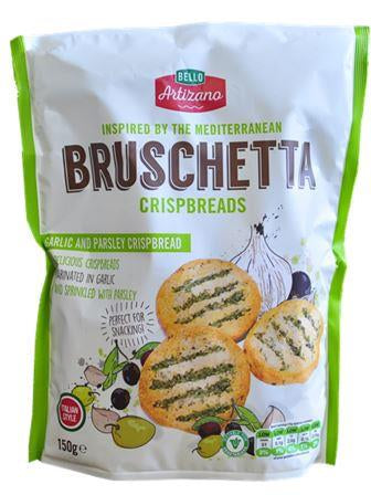 Bello Artizano  Garlic & Parsley Bruschetta