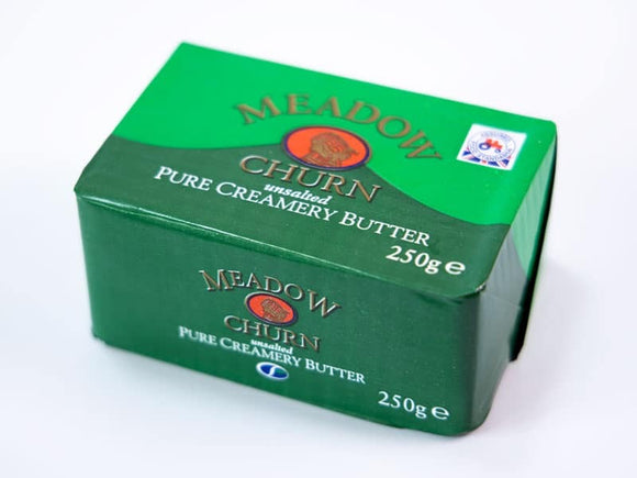 Meadow Churn Creamery Unsalted Butter 250g