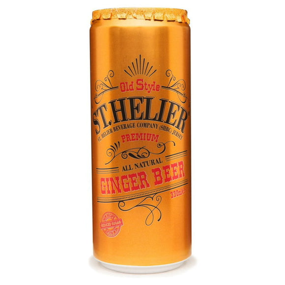 St Helier Ginger Beer 330ml Tin