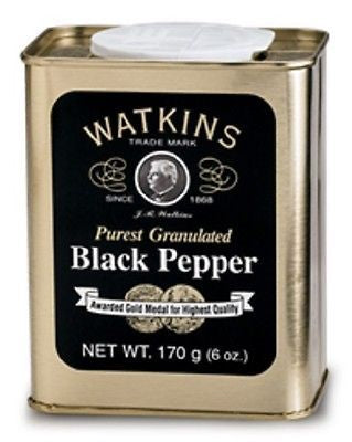 J R Watkins Granulated Pepper Tin