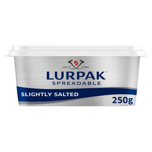 Lurpak Spreadable Salted Butter 250g