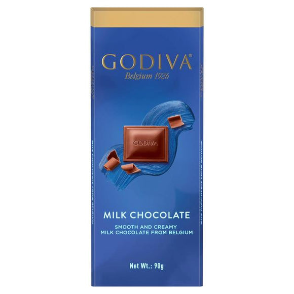 Godiva Luxury Milk Chocolate Bar 90g