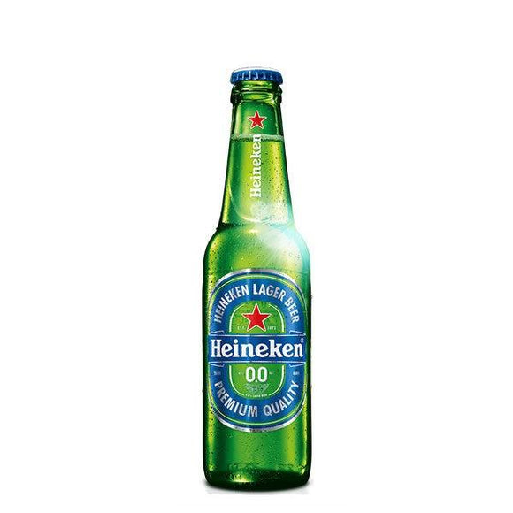 Heineken 00 Alcohol Free Lager 330ml Bottle