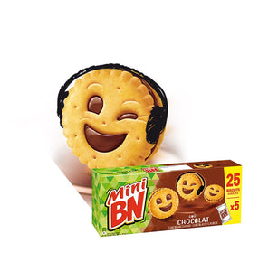 "MINI BN BISCUITS CHOCOLATE 25'S ""BUY ONE GET ONE FREE"""