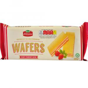 Bella Artizano Strawberry Wafers
