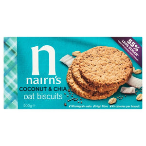 Nairn's Coconut & Chia Seed Oat Biscuit 200g