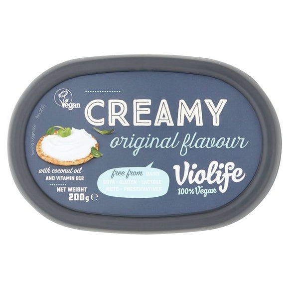 Violife Non-Dairy Cheese Alternative Soft Original 200g