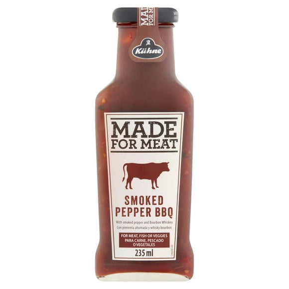 Kuhne Made for Meat Smoked Pepper BBQ Sauce 235ml