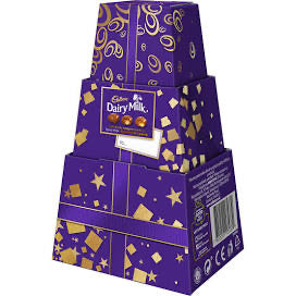 Cadbury 9 Individually Wrapped Pieces 96g