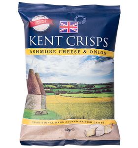 Kent Crisps Ashmore Cheese & Onion 40g