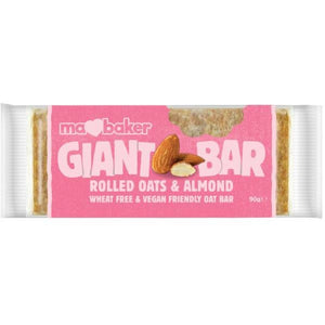 Ma Baker - Giant Bar Rolled Oats & Almond (90g)
