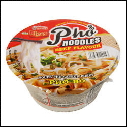 Acecook Oh! Ricey Instant Pho Bo Rice Noodle Bowl Beef Flavour 71g