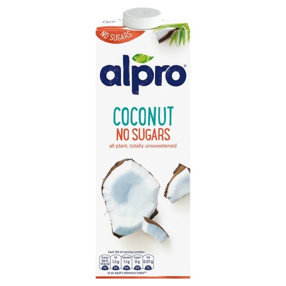 Alpro Coconut No Sugar Drink 1L
