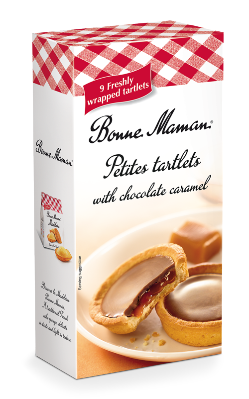 Bonne Maman Chocolate & Caramel Tartlets