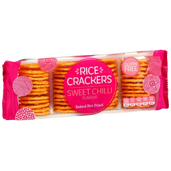 Sweet Chilli Rice Crackers 100g