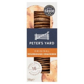 Peter's Yard Original Sourdough Crackers 105g