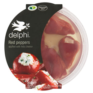 Delphi Red Peppers Stuffed with Feta Cheese 200g