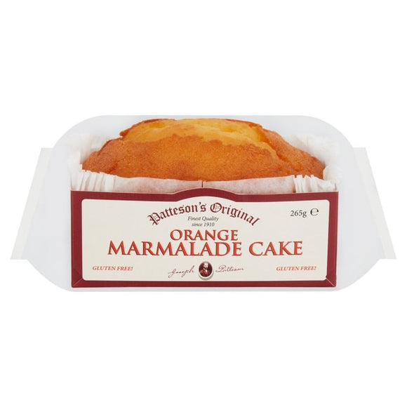 Patteson's Original Orange Marmalade Loaf Cake 265g