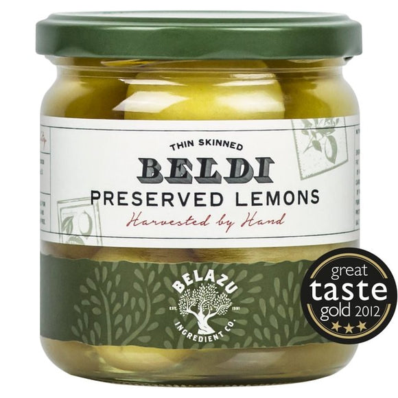Belazu Preserved Beldi Pickled Lemons 350g