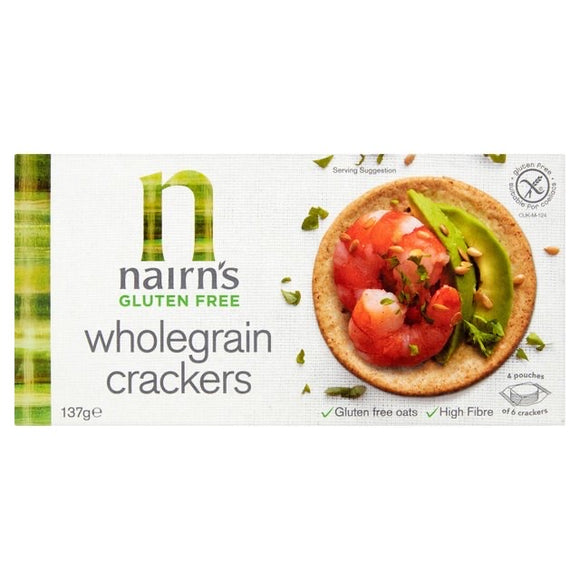 Nairn's Gluten Free Wholegrain Crackers 137g