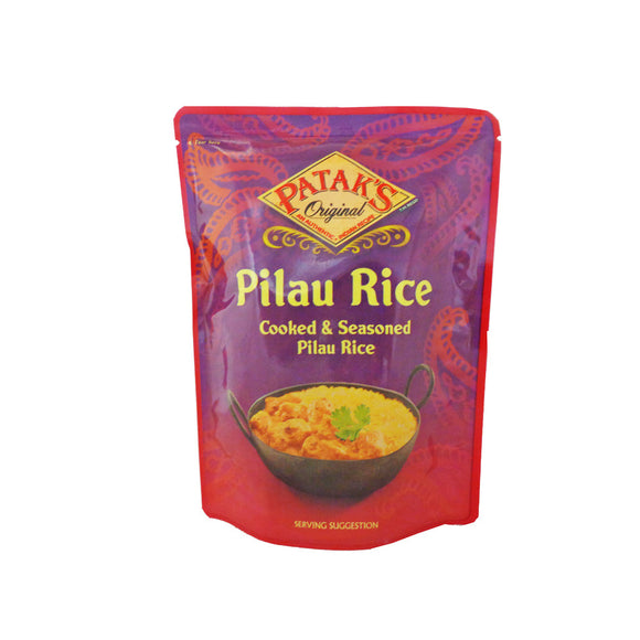Pataks Microwaveable Pilau Rice 250g