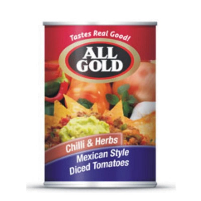 All Gold Mexican Style Chilli & Herbs (410 g) - AUBERGINE FOODS Canada