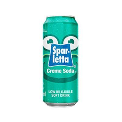 Sparletta Creme Soda (300 ml) from South Africa - AUBERGINE FOODS Canada