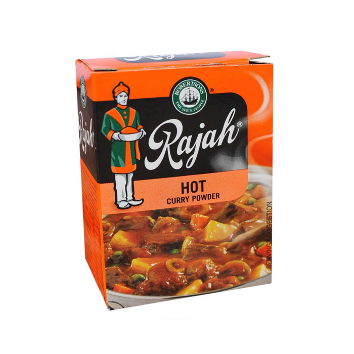 Robertson's Rajah Curry Powder: Hot (100 g) from South Africa - AUBERGINE FOODS Canada