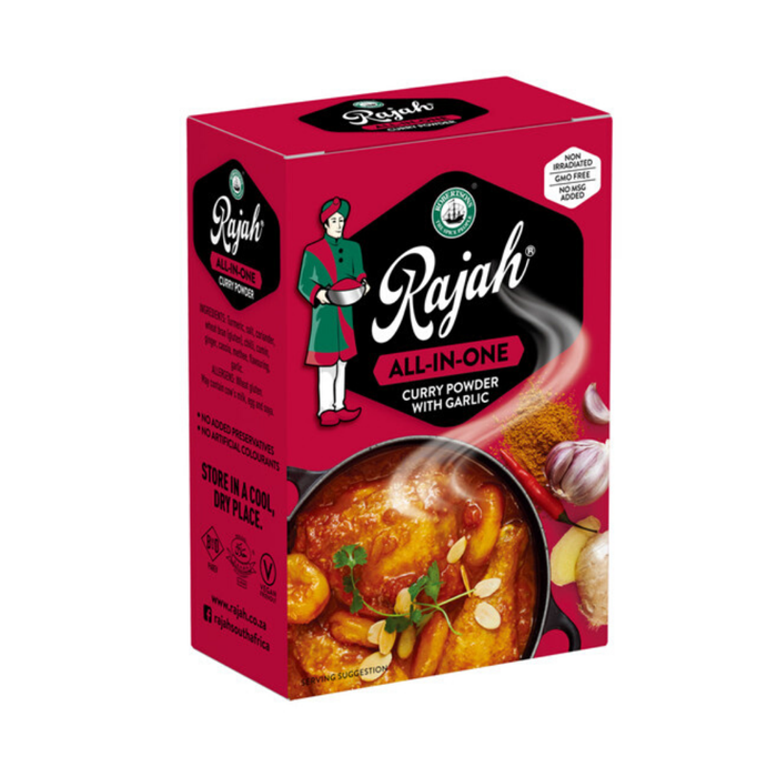 Robertson's Rajah Curry Powder: All-In-One (100 g) from South Africa - AUBERGINE FOODS Canada