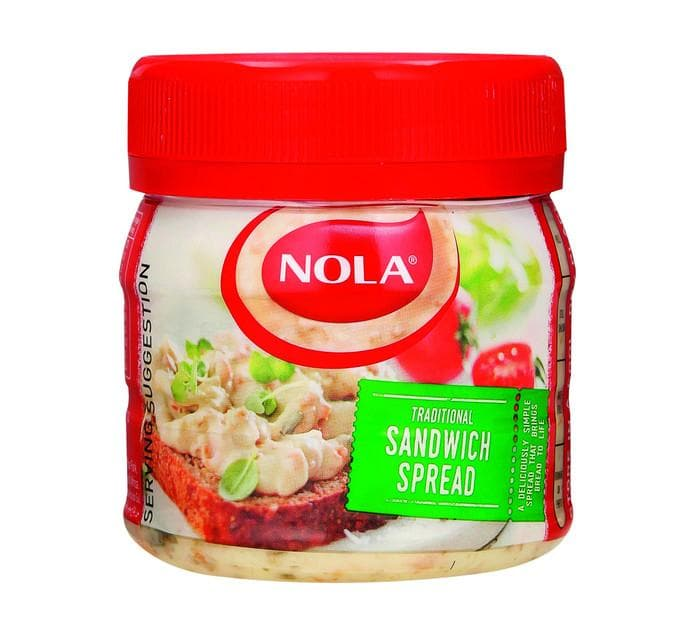 Nola Sandwich Spread (270 g) from South Africa - AUBERGINE FOODS Canada