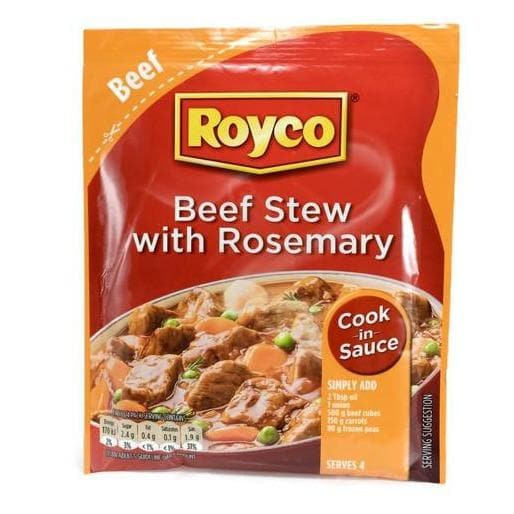 ROYCO Stew w/ Rosemary (48 g) from South Africa - AUBERGINE FOODS Canada