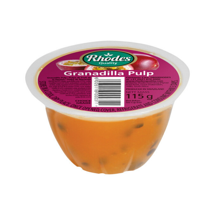 Rhodes Grandilla Pulp (115 g) from South Africa - AUBERGINE FOODS Canada