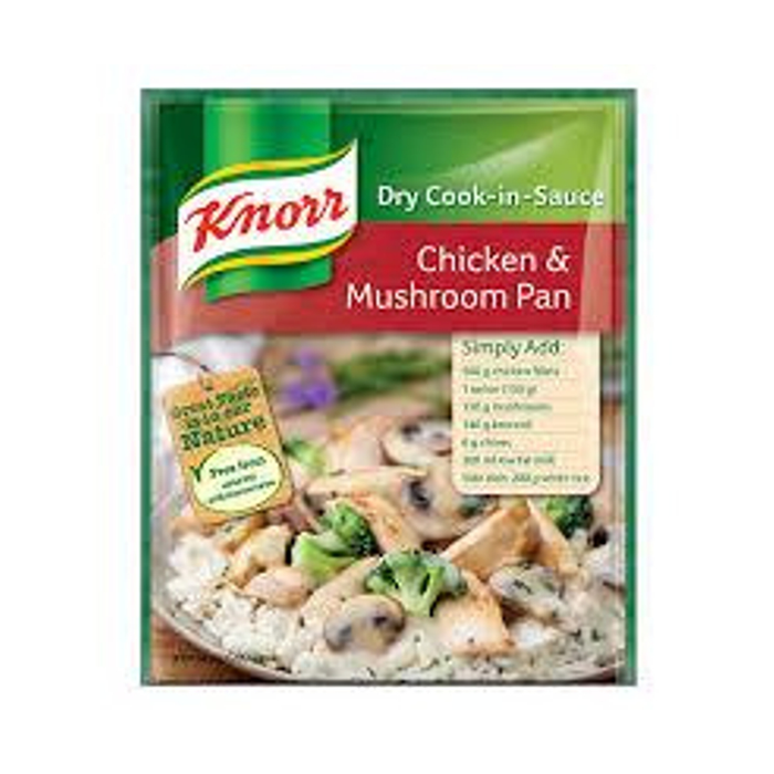 Knorr Chicken and Mushroom Pan (50 g) from South Africa - AUBERGINE FOODS Canada