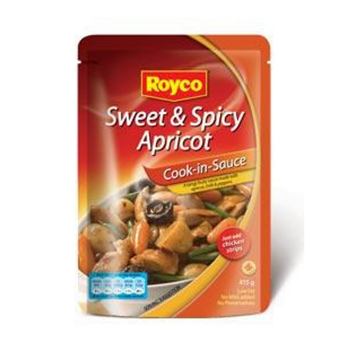 ROYCO Sweet & Spicy Apricot Sauce (415 g) from South Africa - AUBERGINE FOODS Canada