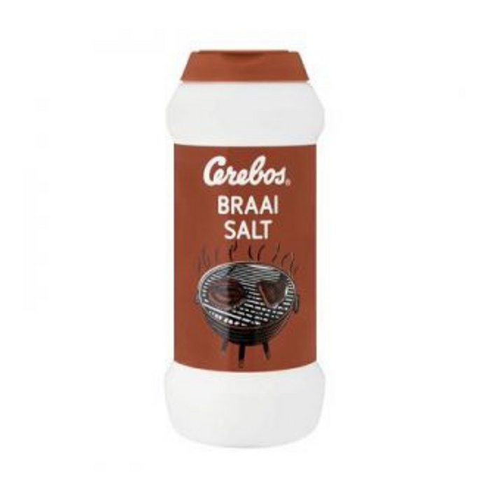 Cerbos Braai Salt (250 g) from South Africa - AUBERGINE FOODS Canada