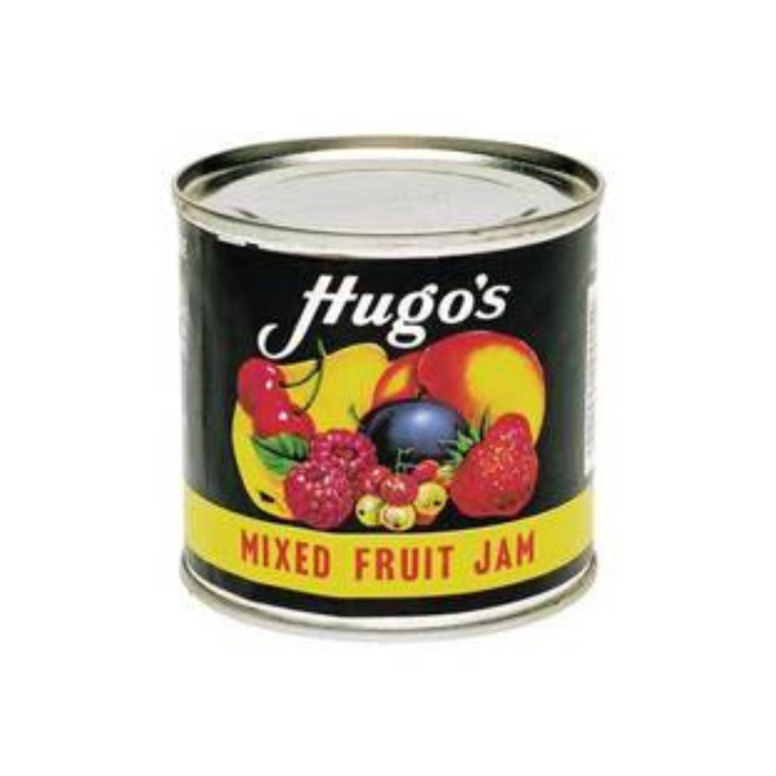 Hugo's Mixed Fruit Jam (450 g) from South Africa - AUBERGINE FOODS Canada