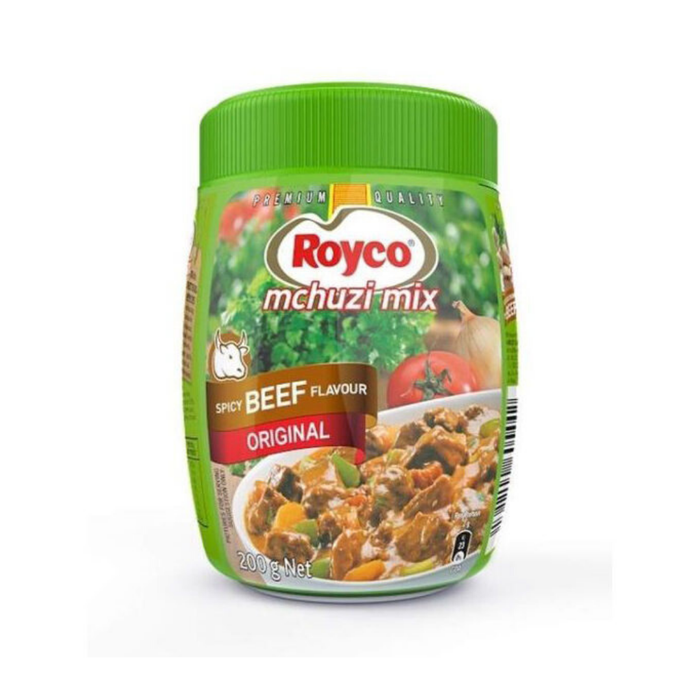Royco Mchuzi Beef Flavor Mix (200 g) from South Africa - AUBERGINE FOODS Canada