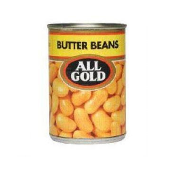 All Gold Butter Beans (410 g) from South Africa - AUBERGINE FOODS Canada