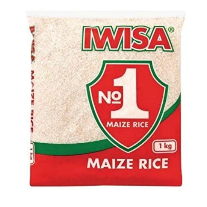 IWISA Maize Rice (1 kg) from South Africa - AubergineFoods.com