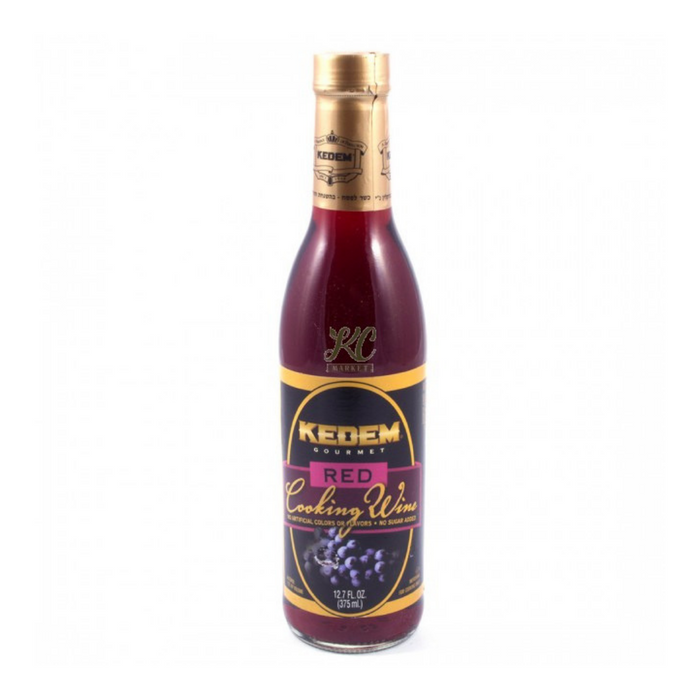 KEDEM Red Cooking Wine (375 ml) from Kosher - AUBERGINE FOODS Canada