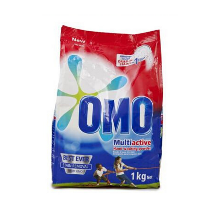 OMO Washing Powder (1 Kg) from South Africa - AubergineFoods.com