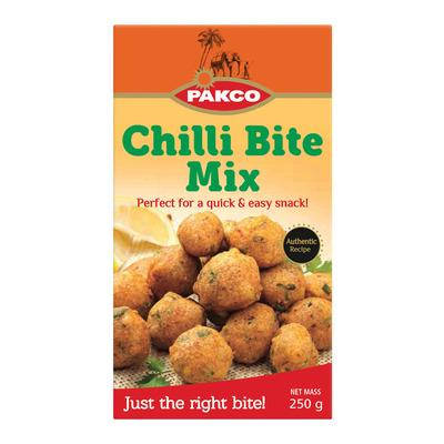 PAKCO Chilli Bite Mix (250 g) from South Africa - AUBERGINE FOODS Canada