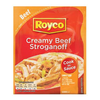ROYCO Creamy Beef Stroganoff (55 g) from South Africa - AUBERGINE FOODS Canada