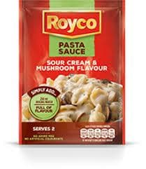 ROYCO Pasta Sauce Sour Cream & Mushroom (45 g) from South Africa - AUBERGINE FOODS Canada