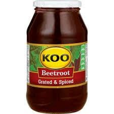 KOO Beetroot-Grated(780 g) from South Africa - AUBERGINE FOODS Canada